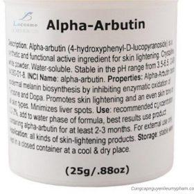 Chất làm trắng Alpha Arbutin