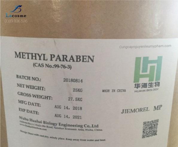 Chất bảo quản Methyl Parapen