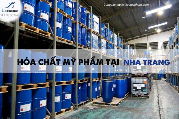 Lacosme cung cấp hóa chất mỹ phẩm tại Nha Trang