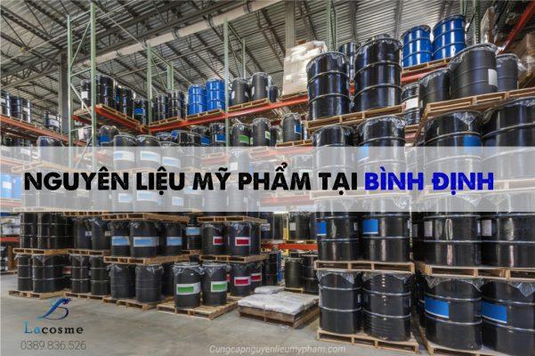 Nguyên liệu mỹ phẩm tại Bình Định