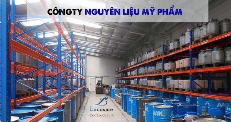 Công ty nguyên liệu mỹ phẩm uy tín