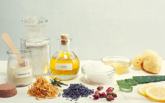 Nguyên liệu tự nhiên được chiết xuất trong mỹ phẩm