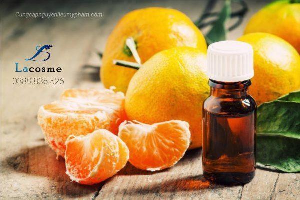 Tinh dầu cam ngọt hương liệu chuyên dụng trong mỹ phẩm