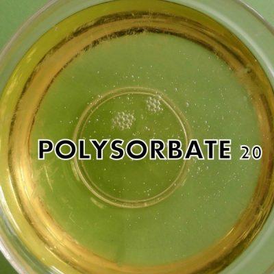 polysorbate 20 trong mỹ phẩm