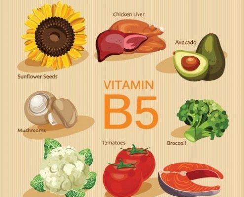 Lợi ích của VitaminB5 trong làm đẹp
