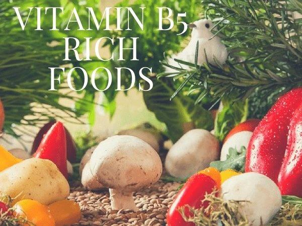 Vitamin B5 có trong thực phẩm nào?