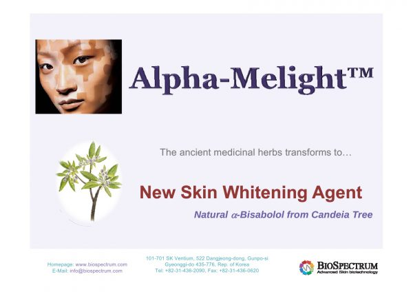 Hoạt chất cho tóc Alpha-Melight